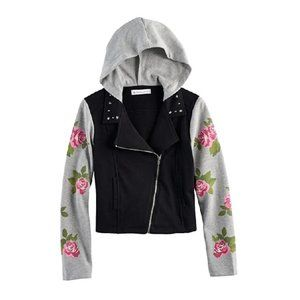 American Girl Rose French Terry Moto Jacket
